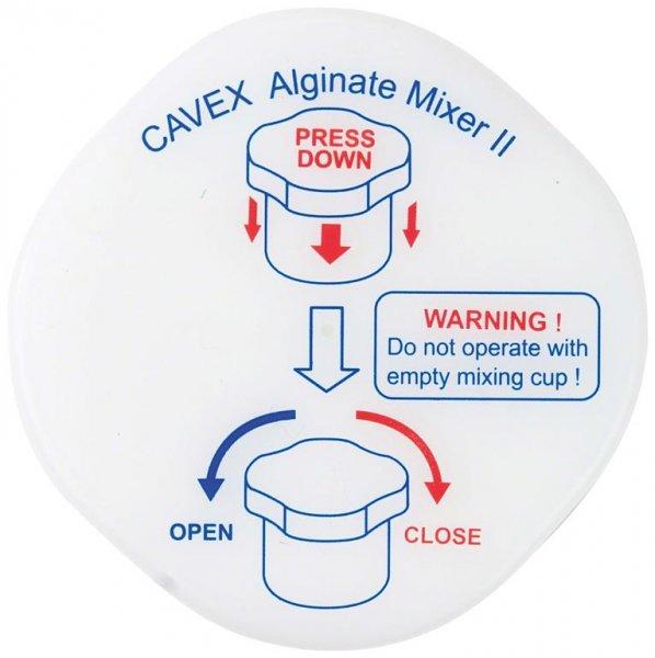 Alginat Mixer II Mischbecher - Stück Mischbecher von Cavex