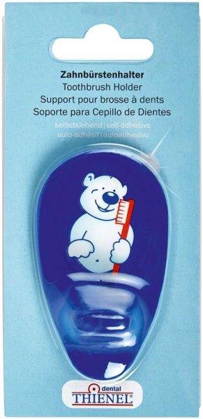 Zahnbürstenhalter - Stück Bär, blau von THIENEL Dental
