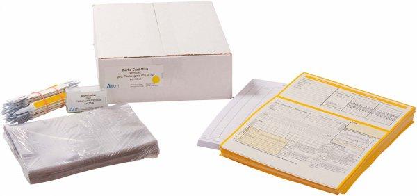 Derfla-Card-Plus - Set 100 Komplettsysteme (Doppelkarte, Krankenblatt für Kasse ... von Becht