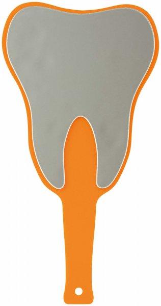 Handspiegel ZAHN - Stück orange von Cardex Dental