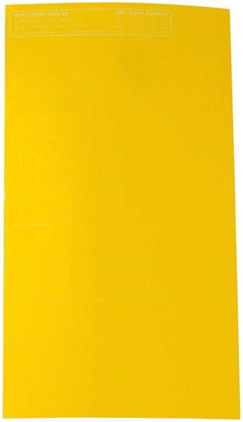 ABC-Signaletiketten - Packung 1000 Etiketten gelb von Beycodent
