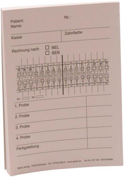 Technik-Zettel - Block 100 Blatt DIN A6,10,5 x 14,8 cm von Spitta Verlag