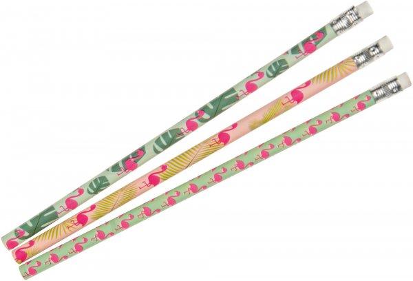 Bleistifte Flamingo - Packung 72 Stifte von MirusMix
