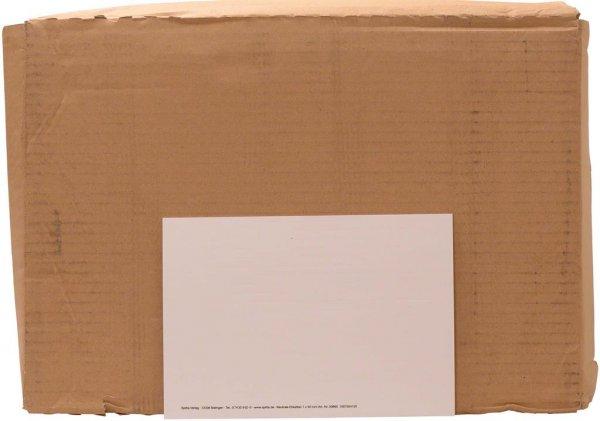 Etiketten ohne Aufdruck - Karton 760 Etiketten 7 x 50 mm von Spitta Verlag