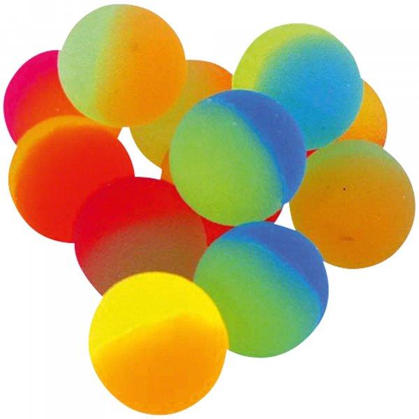 Springbälle Neon - Packung 50 Bälle Ø 3,2 cm von MirusMix