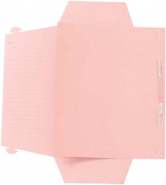 Karteimappe A4 Universal - Packung 100 Mappen rosa von Beycodent