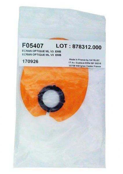 MiniLED Zubehör - Stück Blendschutz oval von Satelec (Acteon Group)
