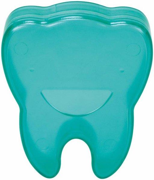 Zahnboxen - Stück grün, Abmessung (65 x 55 x 15 mm) von Cardex Dental