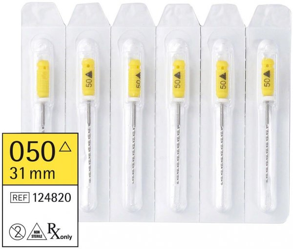 smart K-Bohrer - Packung 6 Stück 31 mm ISO 050 von smartdent