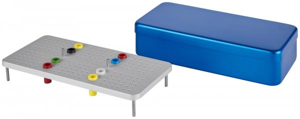 Endo Eco Box - Stück blau von NICHROMINOX