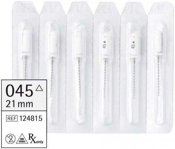 smart K-Bohrer - Packung 6 Stück 21 mm ISO 045 von smartdent
