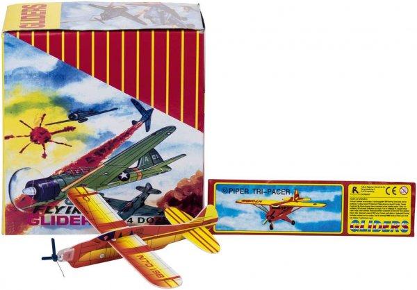 Styroporflieger mit Propeller - Packung 48 Flieger, verschiedene Farben und Motive von MirusMix