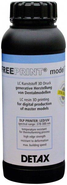 FREEPRINT® model T - Packung 1 kg Flasche UV von DETAX