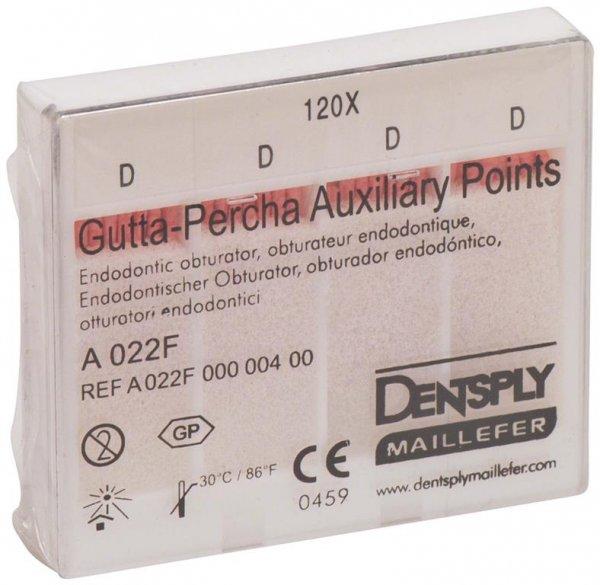 Guttapercha Hilfsspitzen - Packung 120 Stück 24 mm, D von Dentsply Sirona