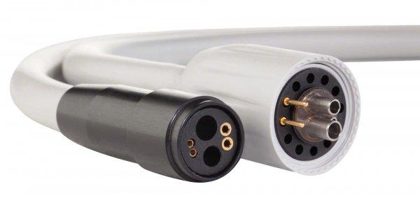 smart Silikonschläuche für 4-Loch Anschluss - Stück 1,35 m Schlauch KV, hellgrau, separate Rückluftf