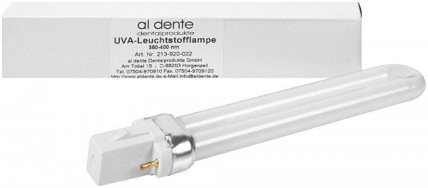 LUXOMINI Zubehör - Stück Blaulicht-Leuchtstoffröhre, 9 W, 350 - 400 nm von al dente Dentalprodukte