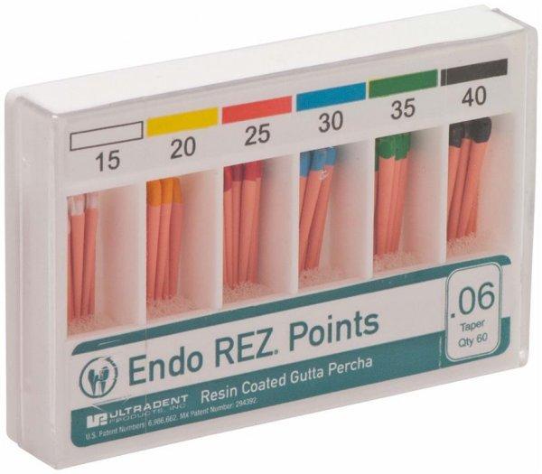 EndoREZ® - Sortiment 60 Stück Taper.06, ISO 015-040 von Ultradent Products