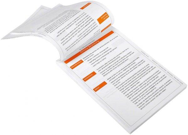 Patientenmerkblatt Örtliche Betäubung - Block 100 Blatt von Spitta Verlag