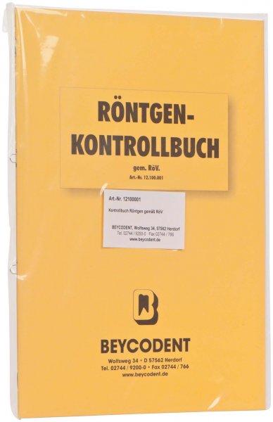 Röntgenkontrollbuch - Stück von Beycodent