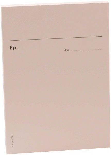 Formulare - Block 100 Blatt Rezept neutral weiß, A6 von Spitta Verlag
