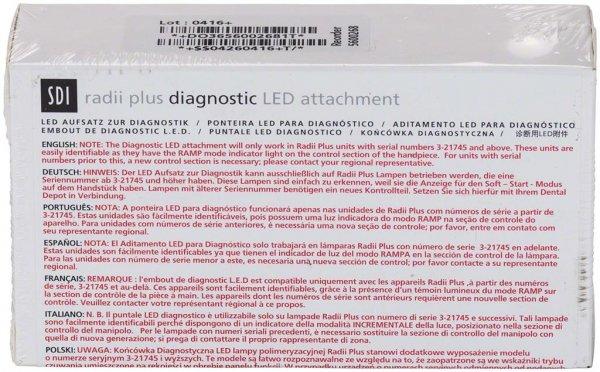 radii plus Zubehör - Stück Aufsatz Diagnostik von SDI