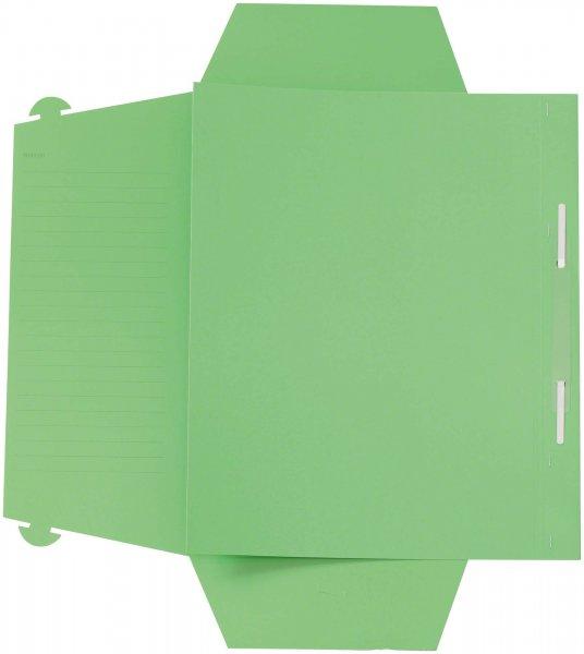 Karteimappe A4 Universal - Packung 100 Mappen grün von Beycodent