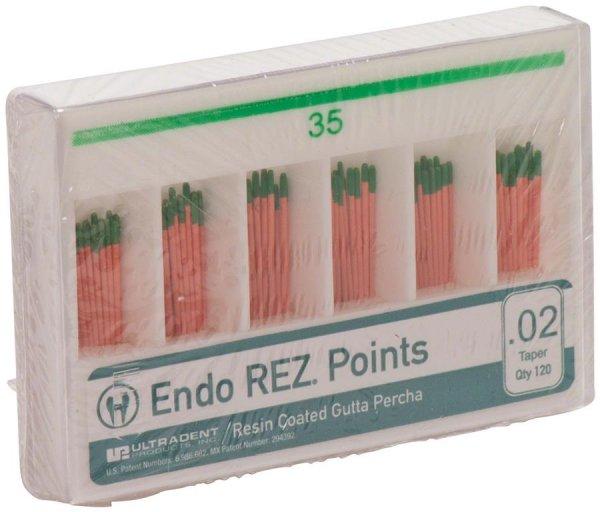 EndoREZ® - Packung 120 Stück Taper.02, ISO 035 von Ultradent Products