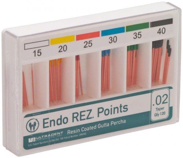 EndoREZ® - Sortiment 120 Stück Taper.02 ISO 015-040 von Ultradent Products