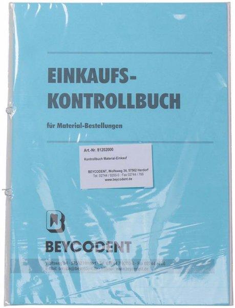 Einkaufs-/Materialkontrollbuch - Stück von Beycodent
