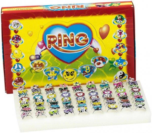 Ringe - Displaybox 72 Ringe mit Kristallen von MirusMix