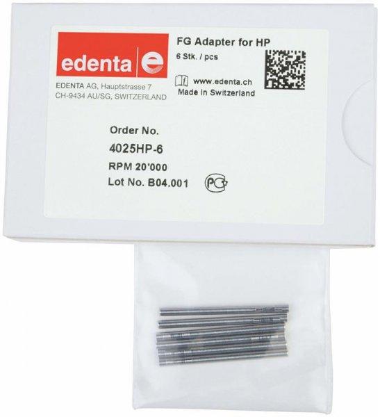 Spannzangen-Einsätze - Packung 6 Adapter 35 mm, HP von Edenta