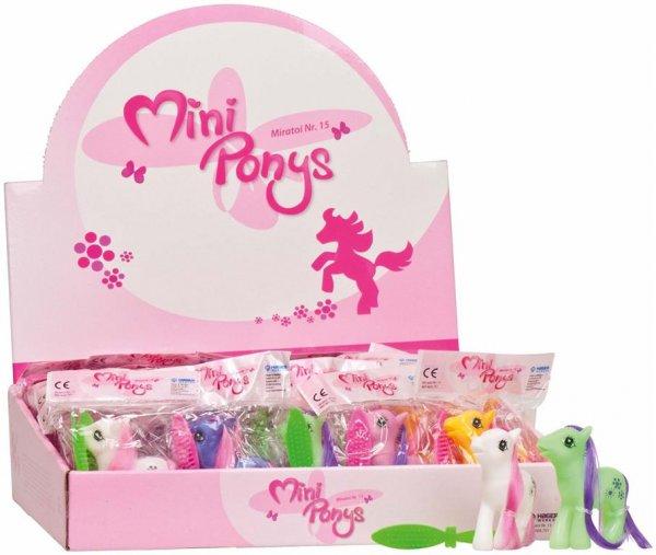 Miratoi® Nr. 15 Mini Ponys - Packung 50 Ponys, Nr. 15 von Hager & Werken