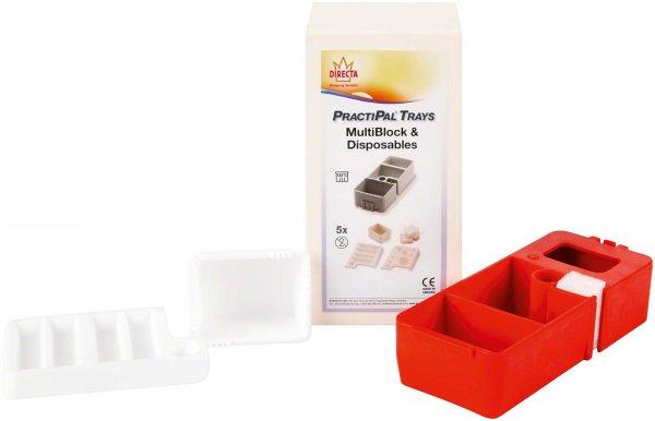 PractiPal® Multiblock - Stück rot von Directa AB