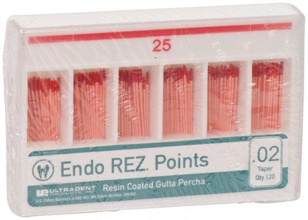 EndoREZ® - Packung 120 Stück Taper.02, ISO 025 von Ultradent Products