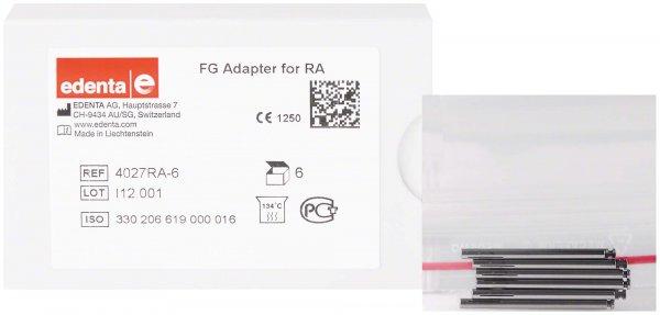 Adapter FG - Packung 6 Adapter 4027RA von Edenta