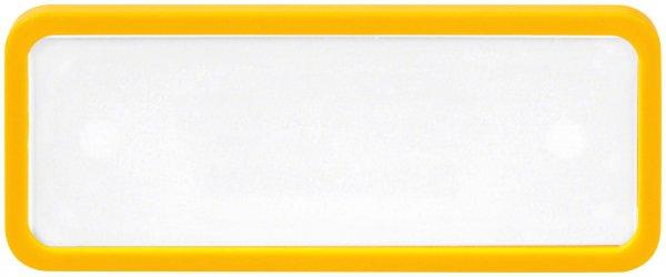 Modu-Line 30 - Stück Namenskarte gelb von Beycodent