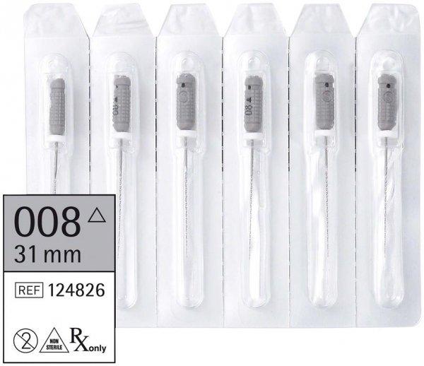 smart K-Bohrer - Packung 6 Stück 31 mm ISO 008 von smartdent